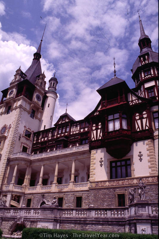 The Pelis Castle, the summer residence of German/Romanian King Carol.  Built in the German-Renaissance style between 1875 and 1914.